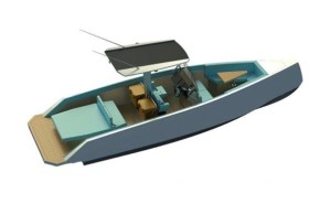 electric boat awards - artists conception of pixii SP800