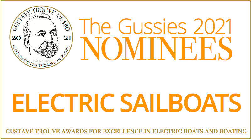 2021 Gussies Electric Boat Awards Nominees: Electric Sailboats