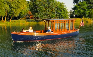 The Telescope customized electric wooden boat