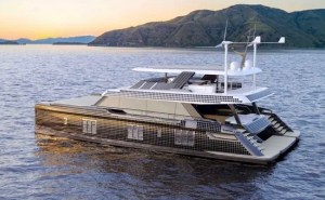 Sunreef Power Eco 80 solar power boat
