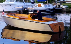 Pianissimo electric boat