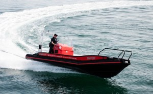 The Gussies electric boat awards Evoy 1 open top boat