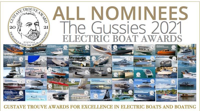 collage of Gustave Trouve Award nominees