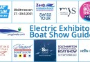 Electric boat exhibitors at 10 shows this August/September