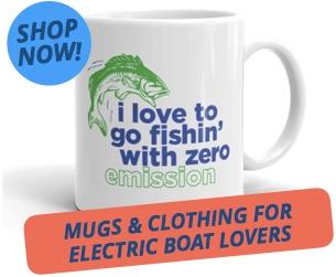 Zero emission fishin' mug