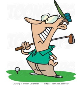 Happy Golfer