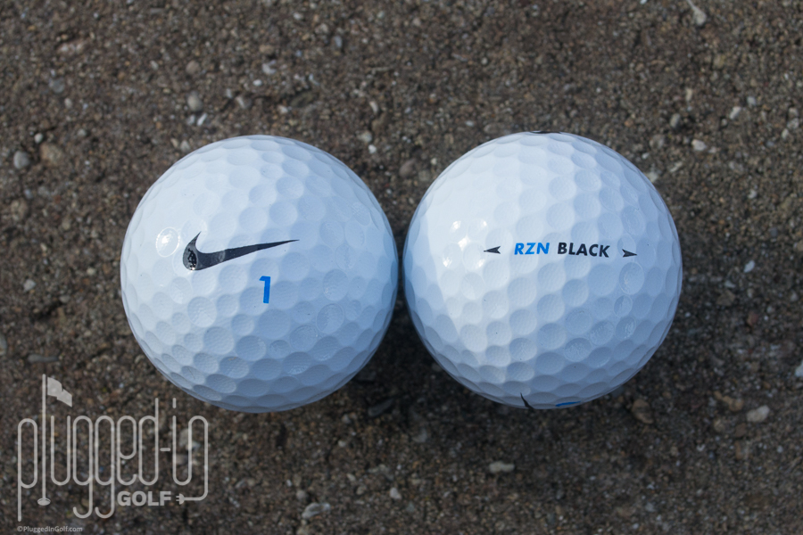 Nike Rzn Black >> Nike Rzn Tour Black Golf Ball Review Plugged In Golf