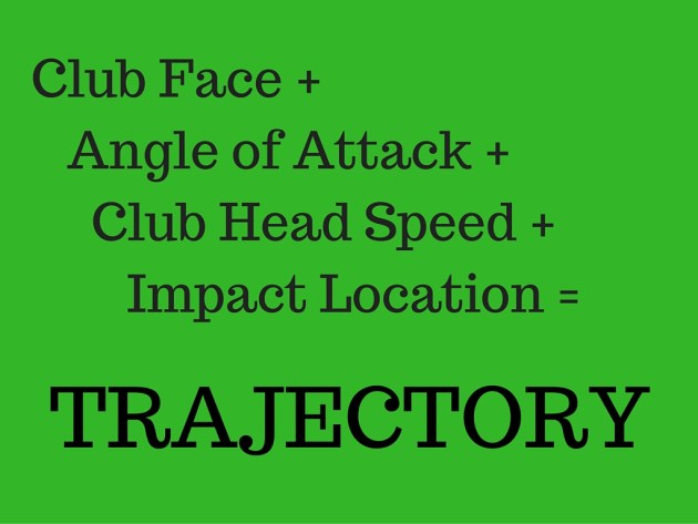 Club Face +Angle of Attack +Club Head Speed +Impact Location