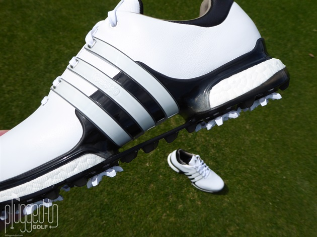 5653514411e3 Adidas Tour 360 Boost 2.0 Golf Shoe Review - Plugged In Golf
