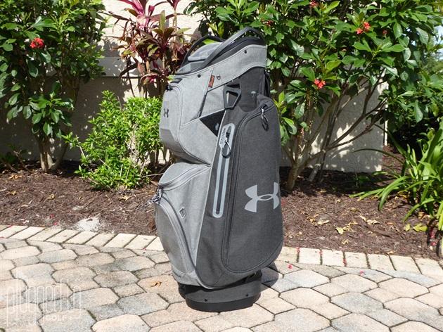 d9068c5a2bcf Under Armour UA Storm Armada Sunbrella Cart Bag Review - Plugged In Golf