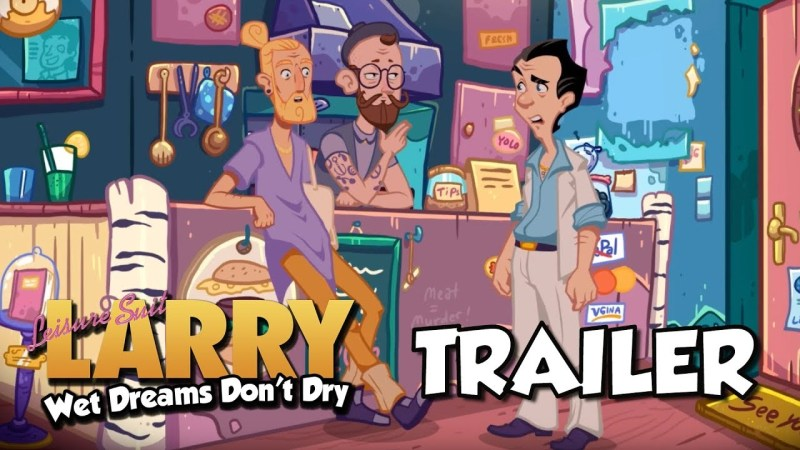 Leisure Suit Larry Reloaded 80s and 90s games!