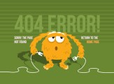 404 Page not found error