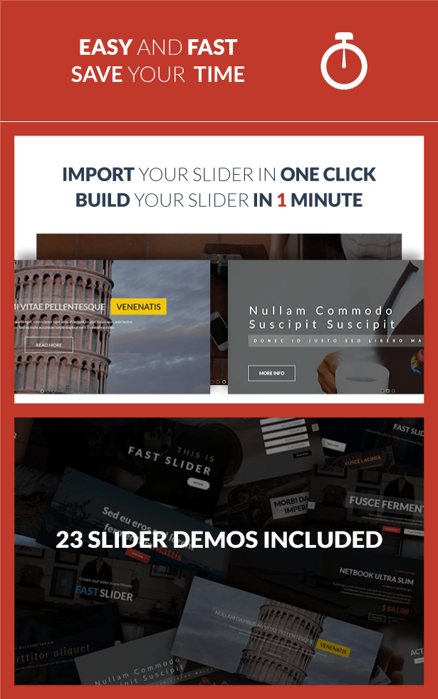 Fast Slider - Easy and Fast - Slider Plugin for WordPress 1