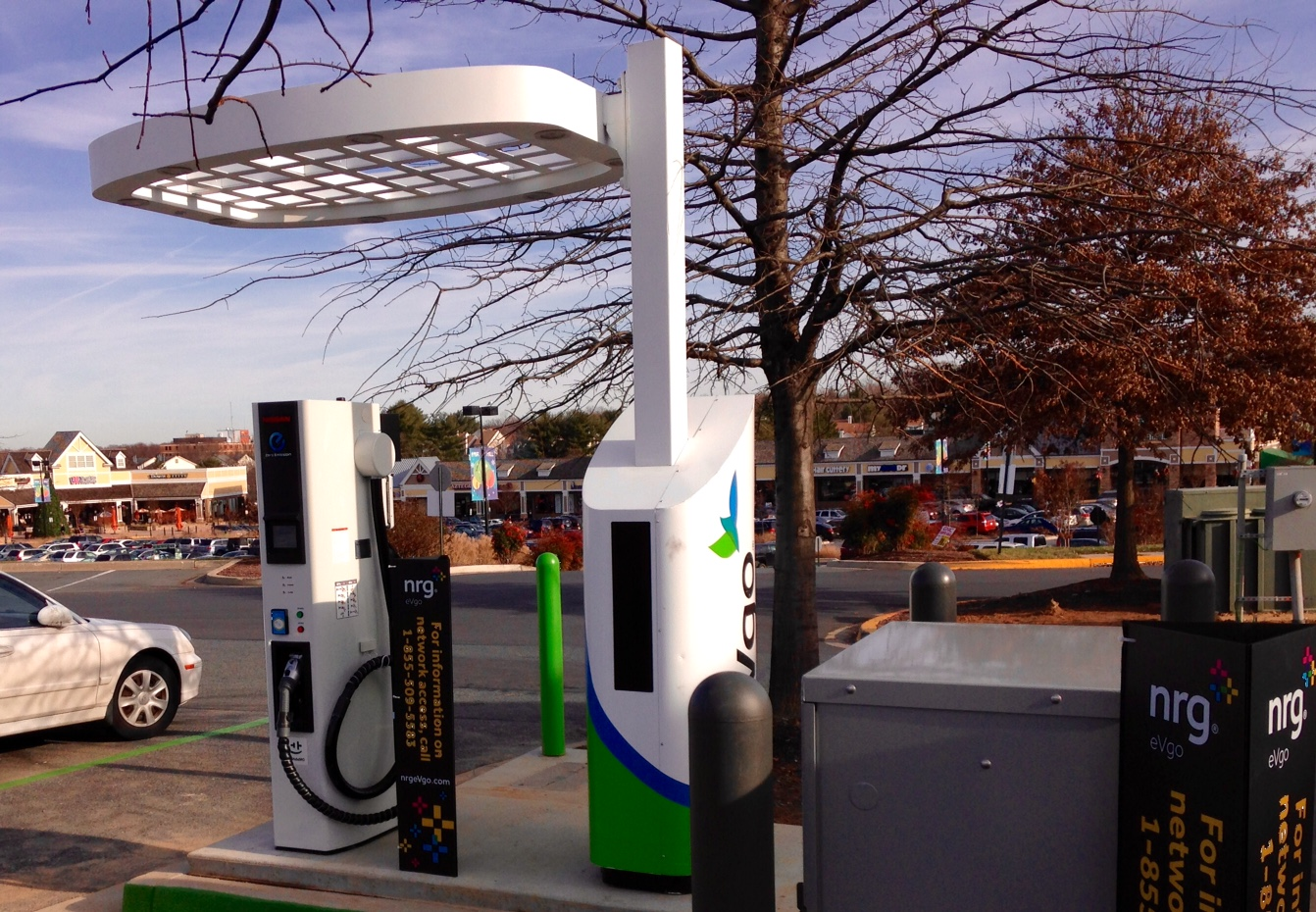 Olney, MD Getting a CHAdeMO Fast Charger | PlugInSites