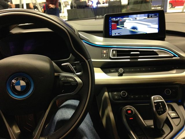 BMW i8 cockpit #WAS15