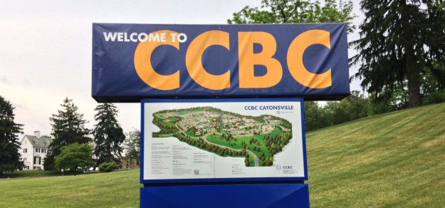 Welcome sign at CCBC Catonsville