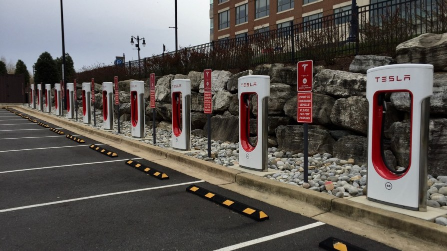 National Harbor Supercharger Closed