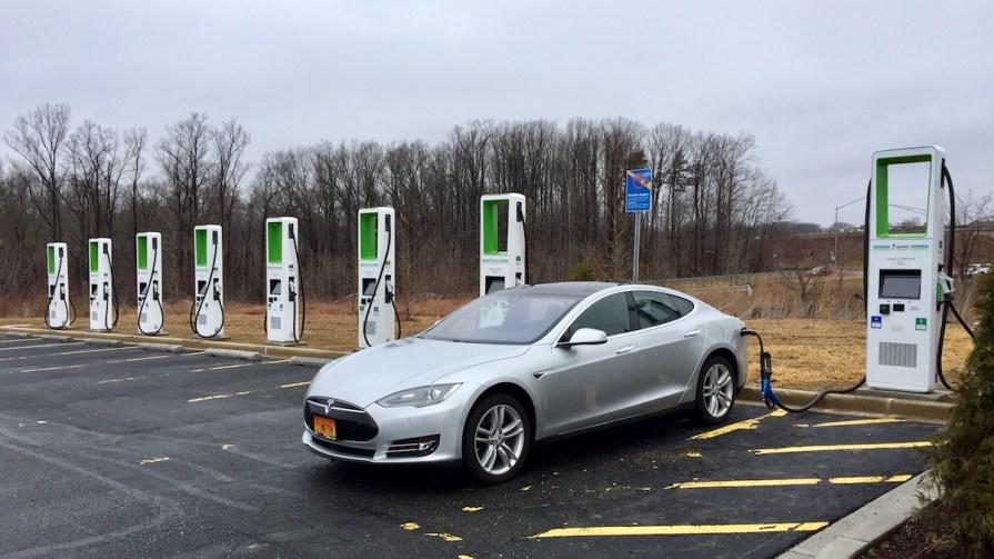 Electrify America EV Charging Station Abingdon, Maryland