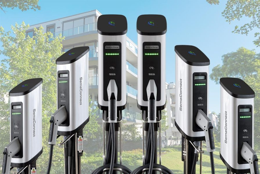 SemaConnect Apartment and Condo EV charging