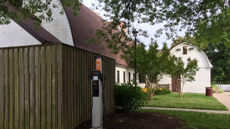 The Other Barn Oakland Mills EV charging