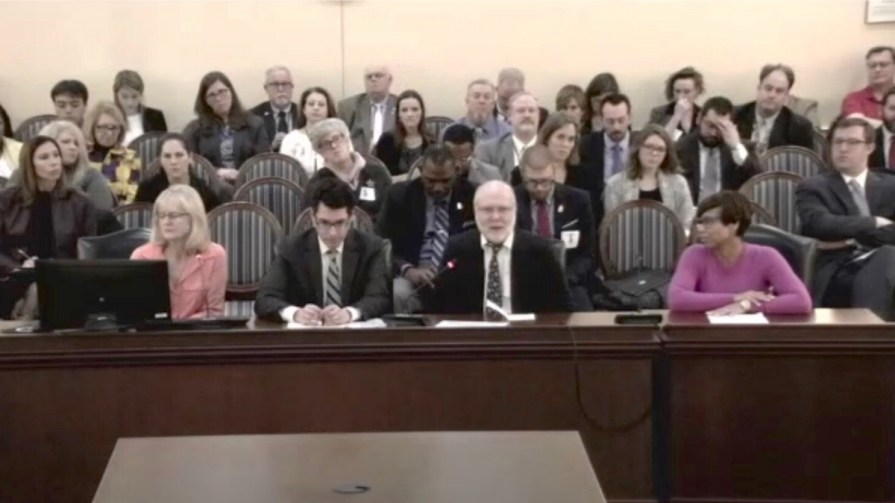Maryland Right to Charge Bill Hearing