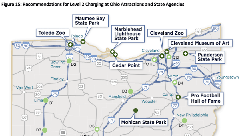Ohio EV Charging Study  State Parks