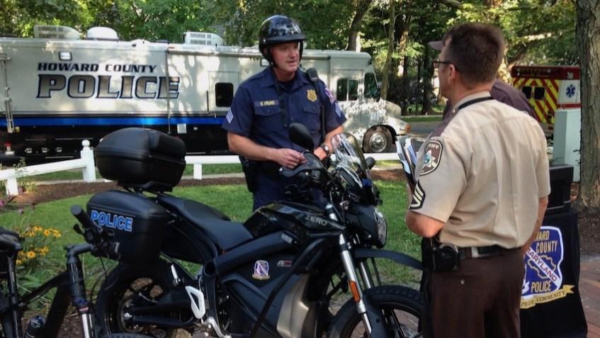 HoCoMD Police Electric Vehicle