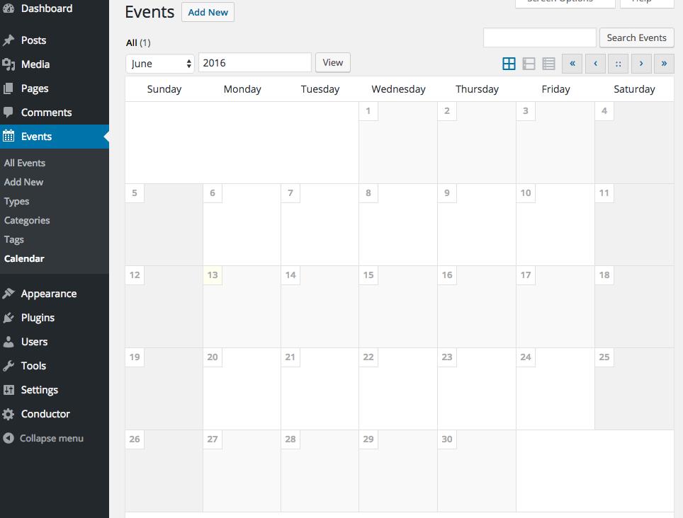 wp-event-calendar-view