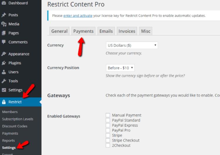 restrict-content-pro-payments1