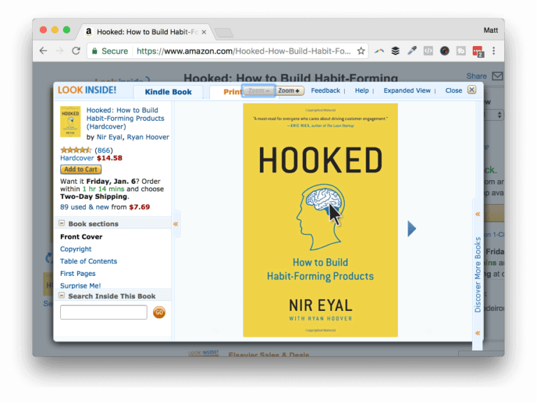 Get Hooked on Amazon
