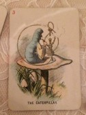 Edwardian Era playing card