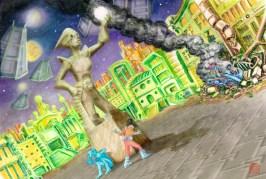 Adventures of Lucy Veloz: Sci-Fi Princess