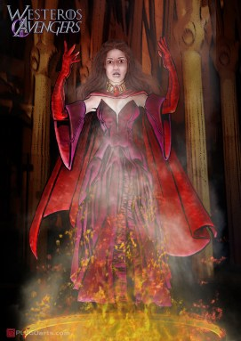 The Red Witch has traveled to Westeros in persuit of her vision. Little did she know she would find him on the isle of Dragon Stone.