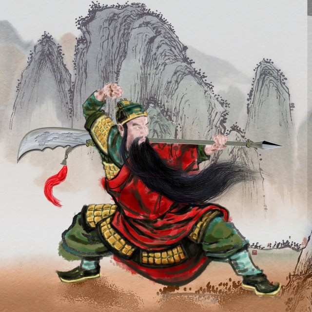 General Guan Yu, patron saint of martial artists