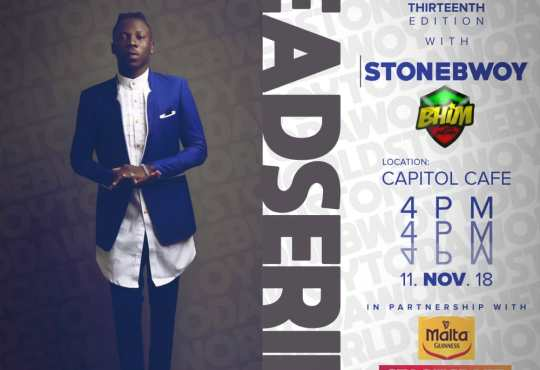 LEAD Series to host Stonebwoy
