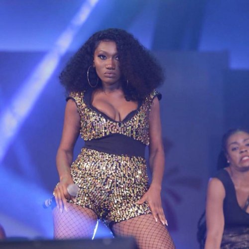 Wendy Shay performing at an event