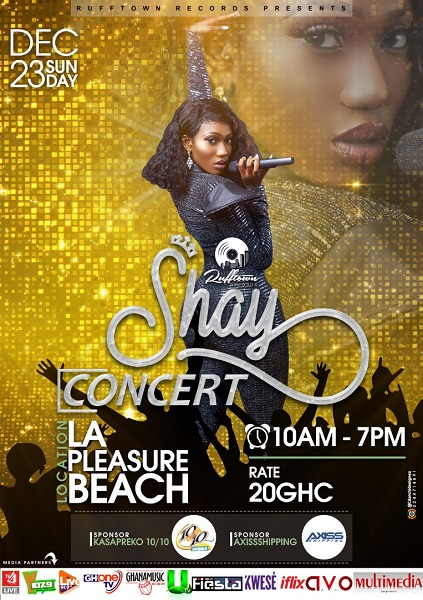 Shay Concert 2018 with Wendy Shay
