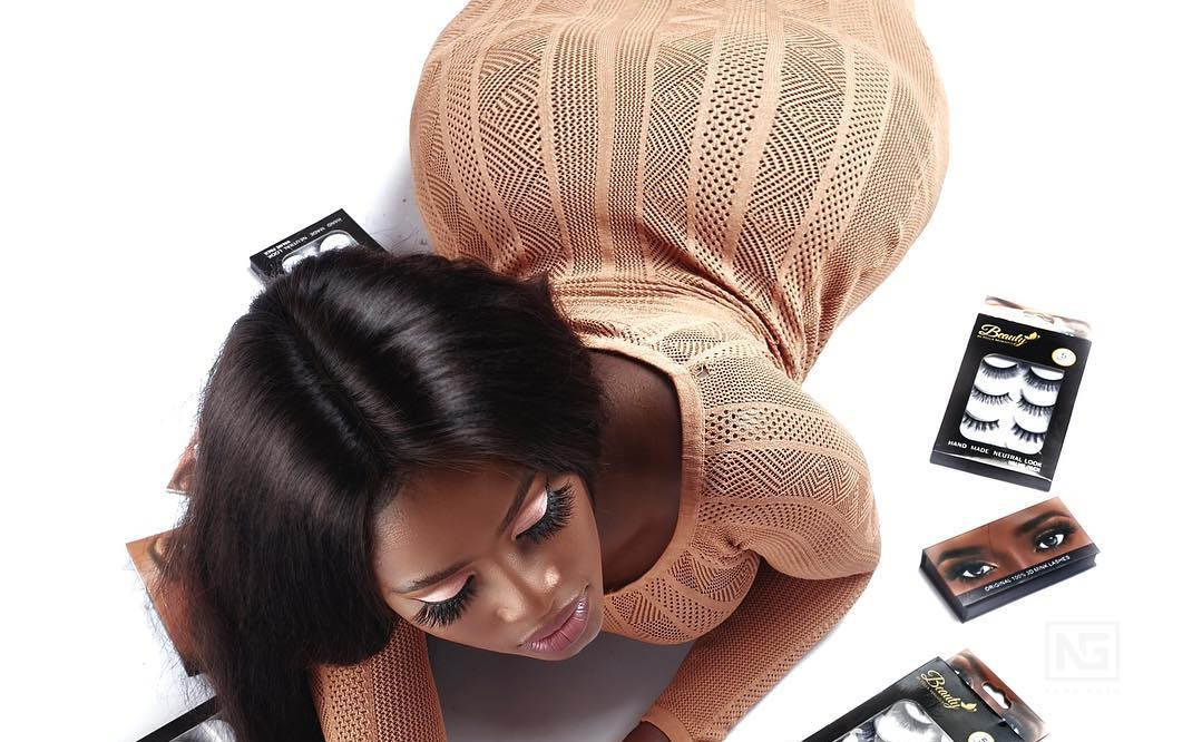 Fella Makafui flaunts Curves in Promo Photos for her Beauty Brand