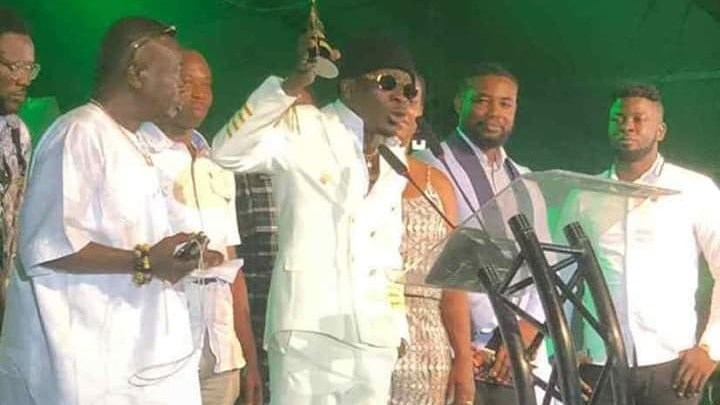 Shatta Wale 3music Awards winner