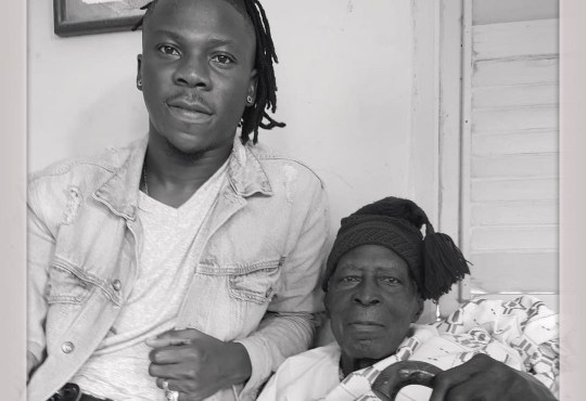 Stonebwoy with grandfather