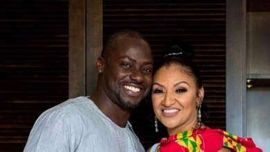 late Bettie Jenifer with husband Chris Attoh