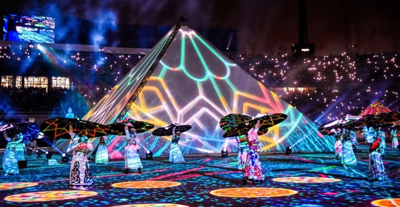 AFCON 2019 opening ceremony in Cairo, Egypt