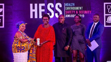 Puma Energy Executives receiving 2019 HESS awards