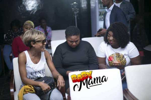 Akuapem Poloo and Xandy Kamel at presser for Tracey Boakye's 'Baby Mama' movieTracey Boakye Baby Mama movie press conference