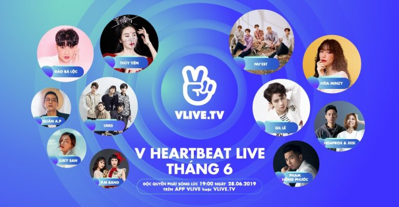 V Heartbeat LIve June 2019
