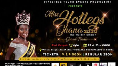Miss Hotlegs Ghana 2020 beauty pageant grand finale