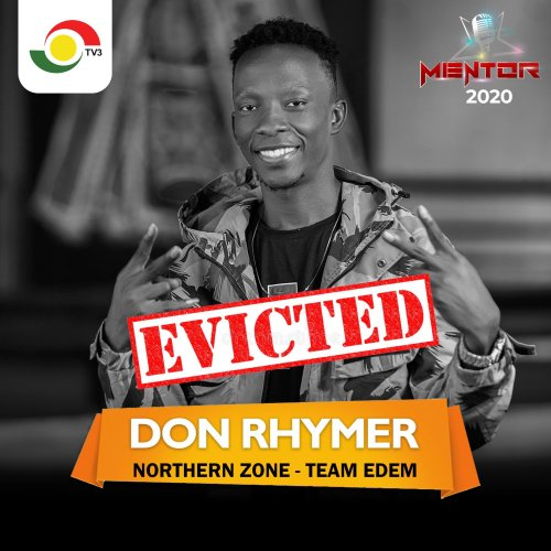 TV3 Mentor 2020  Don Rhymer evicted