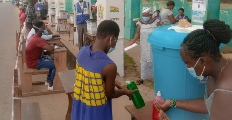 Ghana Elections 2020 voting ballots candidate