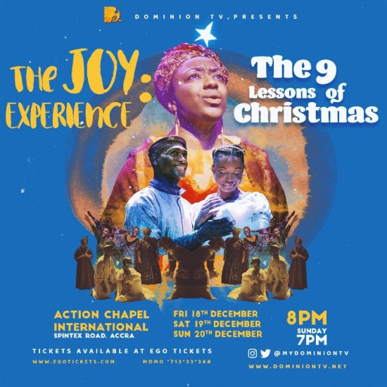 The Joy Experience Christmas Live Musical Stage Production