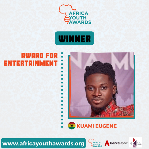 Winners for Africa Youth Awards 2020